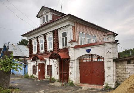 nizhny novgorod: Historic house in Gorodets. Nizhny Novgorod Oblast. Russia