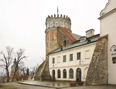 casimir: Royal Casimir castle in Przemysl. Poland