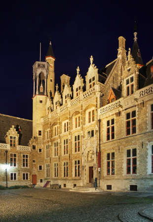 our lady: Church of Our Lady in Bruges. Flanders. Belgium