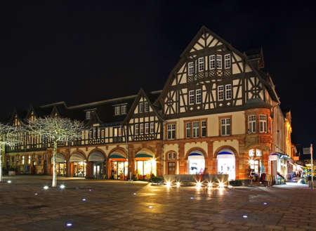 Market square in Bad Homburg. Germany