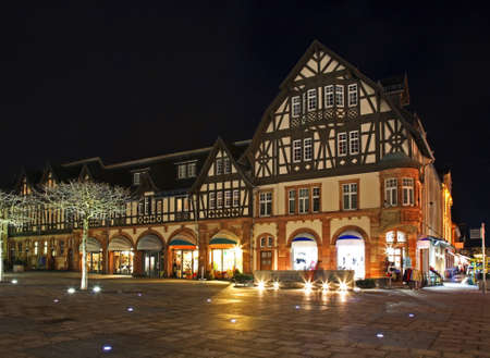 Market square in Bad Homburg. Germany