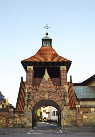 franciscan: Franciscan church of the Virgin Mary in Krosno. Poland