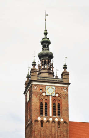 catherine: St. Catherine church in Gdansk. Poland Stock Photo
