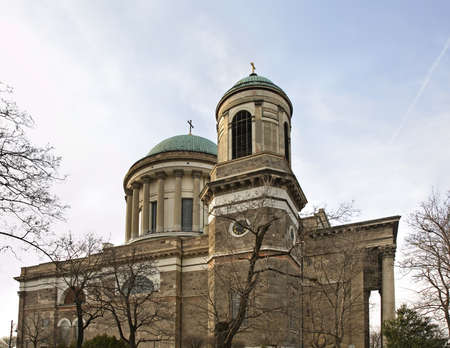 assumed: Primatial Basilica of Virgin Mary and St. Adalbert - Esztergom cathedral. Hungary