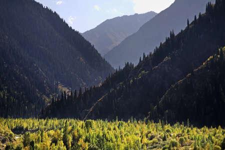 kazakhstan: Issyk canyon. Kazakhstan