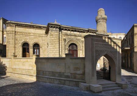baku: Cuma Mosque in Baku. Azerbaijan