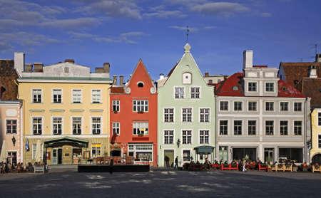 town hall square: Town hall square in Tallinn. Estonia Editorial