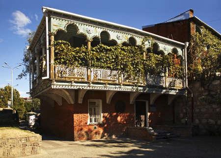 tbilisi: Old town in Tbilisi. Georgia