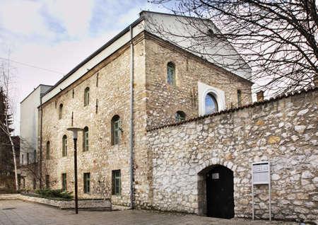 sarajevo: Old synagogue in Sarajevo. Bosnia and Herzegovina