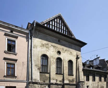 jewish home: Joseph street in Kazimierz. Krakow. Poland