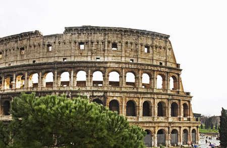 amphitheatre: Colosseum Coliseum - Flavian Amphitheatre in Rome. Italy