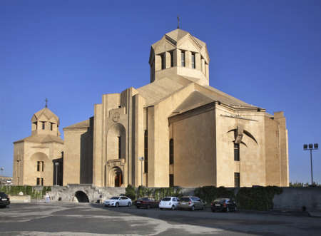 illuminator: Saint Gregory the Illuminator Cathedral in Yerevan. Armenia