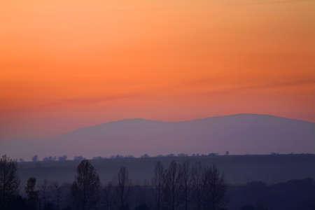 slovakia: Mountain near Vitanova. Slovakia Stock Photo