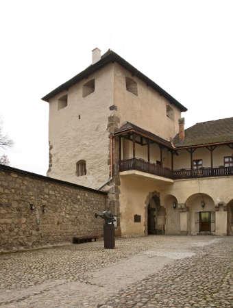 slovakia: Zvolen castle. Slovakia Editorial