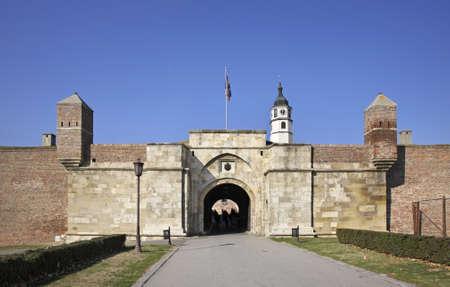serbia: Stambol gate in Kalemegdan fortress. Serbia