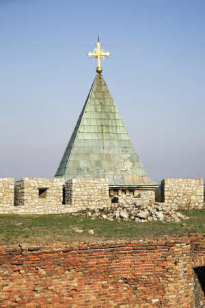 serbia: Rose Church in Belgrade. Serbia
