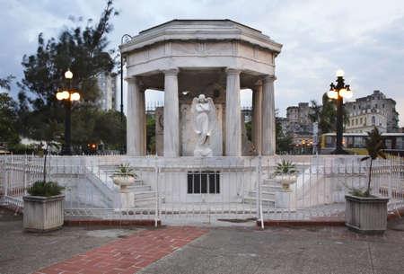 estudiantes medicina: Memorial a estudiantes de medicina de La Habana. Cuba