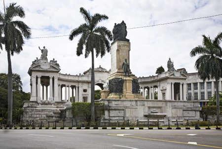gomez: Monument to Jose Gomez in Havana. Cuba