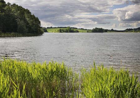 paysage: Serdovo lake. Belarus