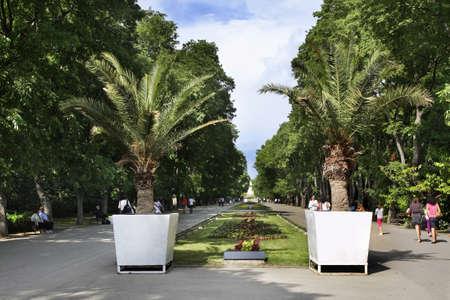 Sea garden in Varna. Bulgaria Standard-Bild