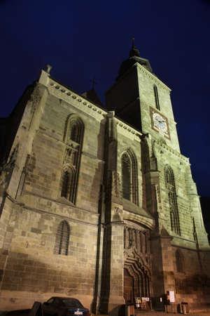 brasov: Black Church in Brasov. Romania Stock Photo