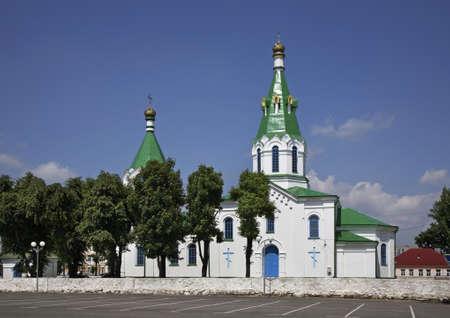 intercession: Church of intercession of Holy Virgin in Maladzyechna. Belarus
