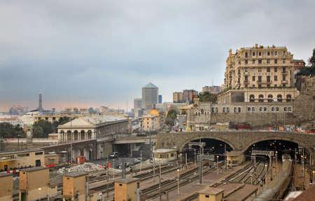 genoa: Genoa. Italy Stock Photo