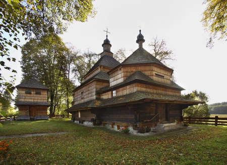 virgin mary mother of god: Greek Catholic church of Nativity of Most Holy Mother of God in Gorajec. Poland