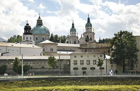 dom: Cathédrale de Salzbourg Salzburger Dom. Autriche