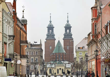 Royal Gniezno Cathedral. Poland