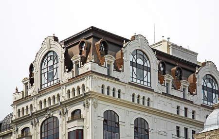 kiev: Building in Kiev. Ukraine
