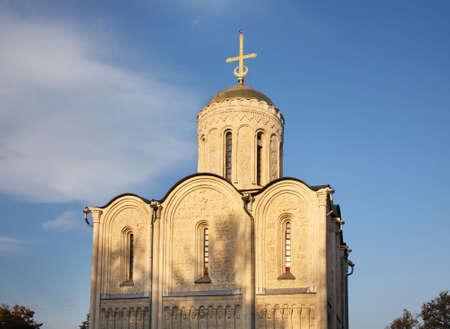 vladimir: Cathedral of St. Demetrius in Vladimir. Russia