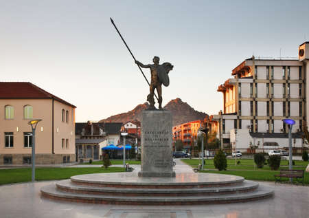alexander the great: Monument to Alexander the Great in Prilep. Macedonia