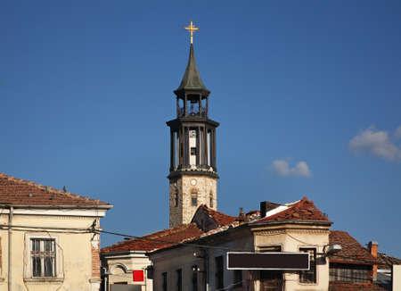 Clock tower in Prilep. Macedonia