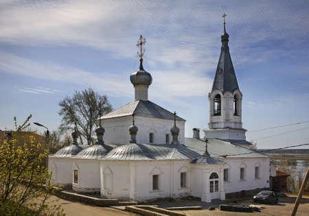 oka: Church of the Annunciation in Kasimov. Ryazan oblast. Russia Stock Photo