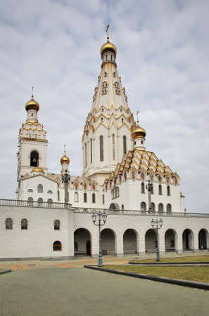 minsk: Church of All Saints in Minsk. Belarus Stock Photo