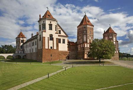 belarus: Castle in Mir. Belarus Editorial