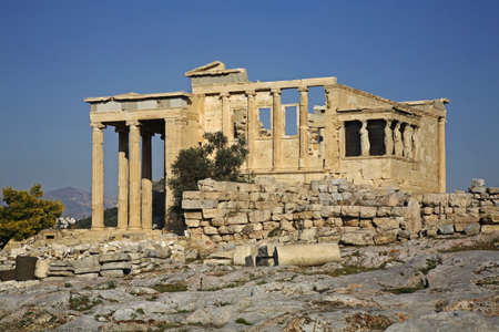 acropolis: Erechtheion. Acropolis of Athens. Greece