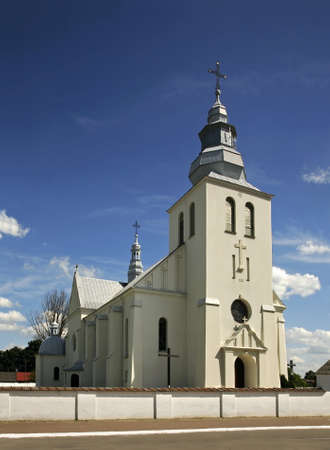 czestochowa: Church of Our Lady of Czestochowa in Dzwola. Poland