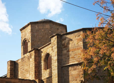 Bedesten Bedestan - Church of St Nicholas and Selimiye mosque in Nicosia. Cyprus