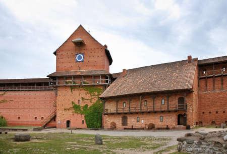 sigulda: Turaida Castle near Sigulda. Latvia Editorial