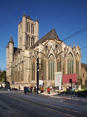 nicholas: Church of St. Nicholas in Ghent. Belgium Editorial