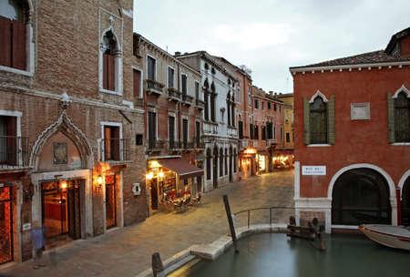 veneto: Canal in Venice. Veneto. Italy Editorial