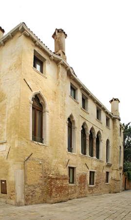 veneto: Historic building in Venice. Veneto. Italy