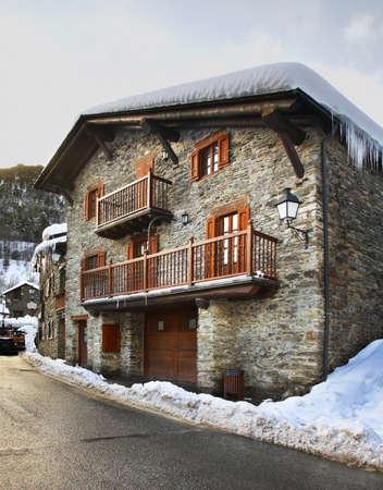 andorra: Old street in Llorts. Andorra