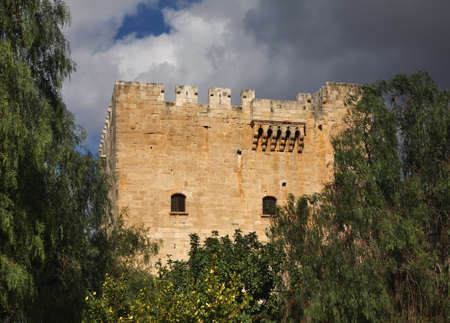 limassol: Kolossi Castle near Limassol. Cyprus Editorial