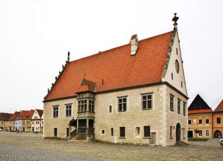 town hall square: Townhouse on Town Hall square Radnin nmestie in Bardejov