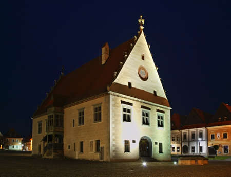 townhouse: Townhouse on Town Hall square Radnin nmestie in Bardejov