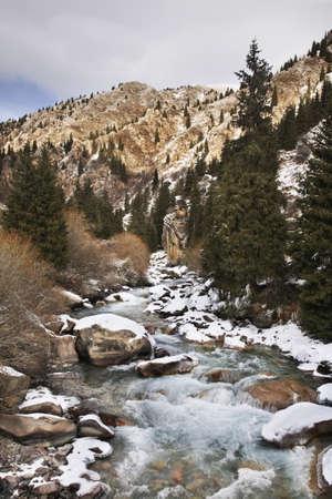 kyrgyzstan: Desfiladero Grigoriev. Kirguistán