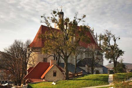 kazimierz dolny: Church of St. John Baptist in Kazimierz Dolny. Poland